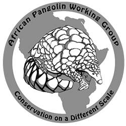 logo for the African Pangolin Working Group