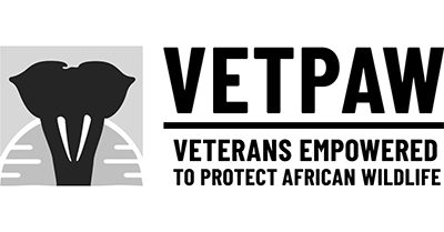 logo for veterans empowered to protect african wildlife